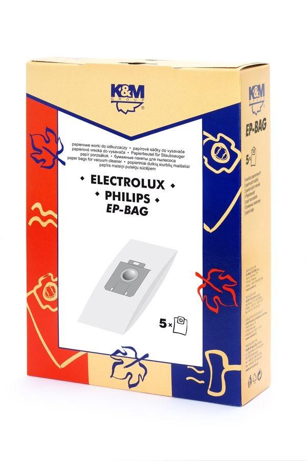 Sáčky a filtry - SÁČKY EP-BAG ELECTROLUX-PHILIPS