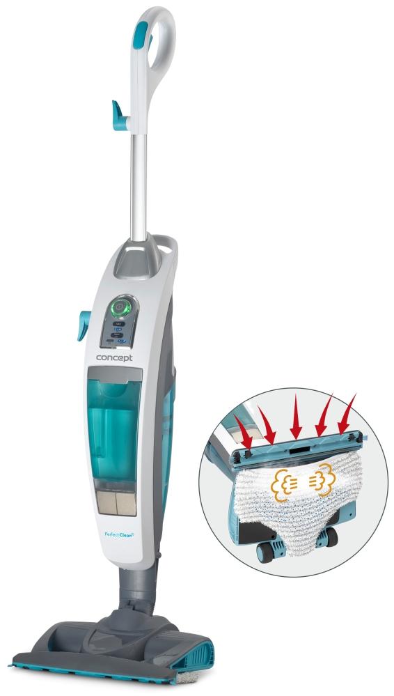 Malé spotřebiče - CONCEPT CP3000 Vysavač a parní čistič Perfect Clean 3 v 1