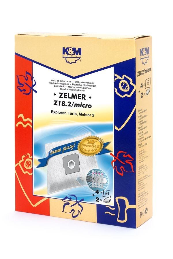 Sáčky a filtry - K&M SÁČKY Z18.2/micro (náhrada Z-BAG/micro)