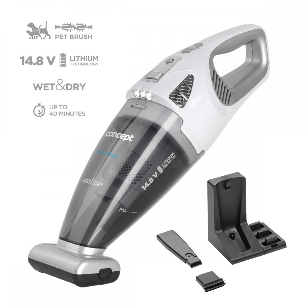 Malé spotřebiče - CONCEPT VP4370 Ruční vysavač 14,8 V Wet & Dry Perfect Clean