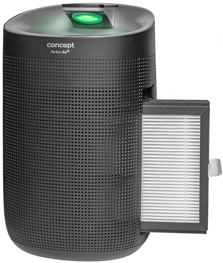 Malé spotřebiče - CONCEPT OV1210 Odvlhčovač a čistička vzduchu Perfect Air černý