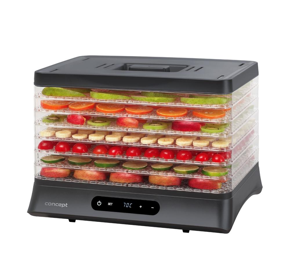 Malé spotřebiče - CONCEPT SO2041 Sušička ovoce digitální 500 W