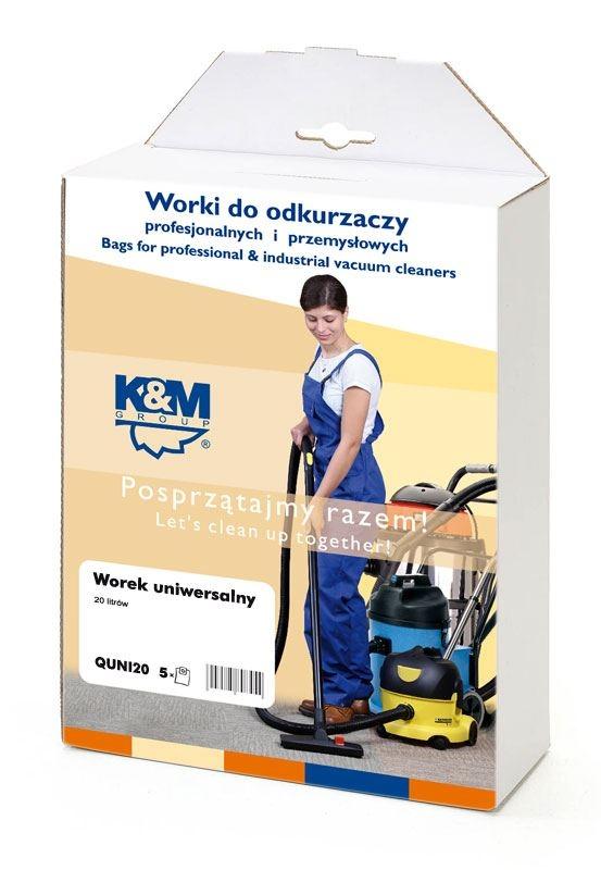 Sáčky a filtry - K&M SÁČKY QUni30.A