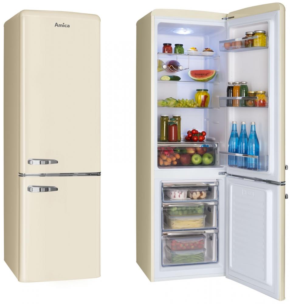 Velké spotřebiče- ledničky,pračky... - AMICA KGCR 387100B