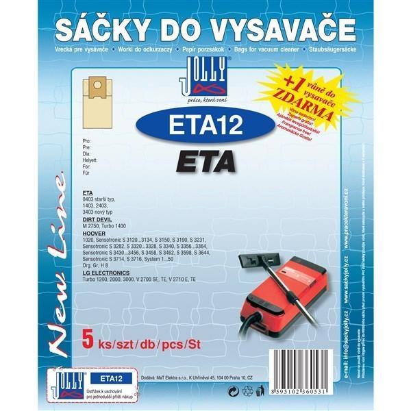 Sáčky a filtry - JOLLY ETA 12