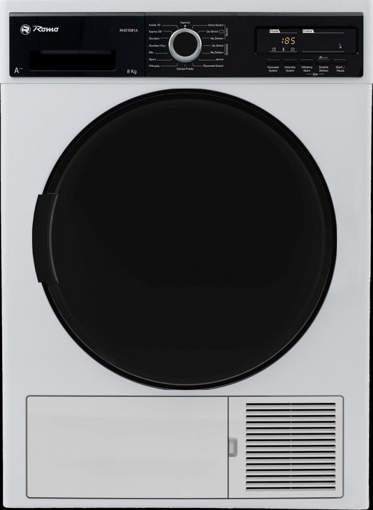 Velké spotřebiče- ledničky,pračky... - ROMO RHD1081A